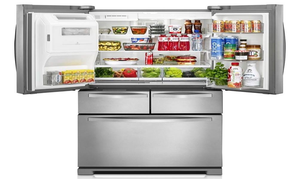 Dual Ice Maker Refrigerator