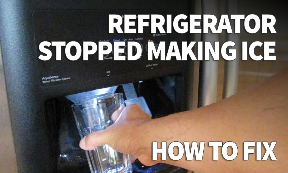 Why My Ice Maker is Not Making Ice